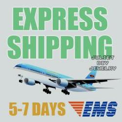 Shipping cost for 5-7 business days express shipping (EMS)